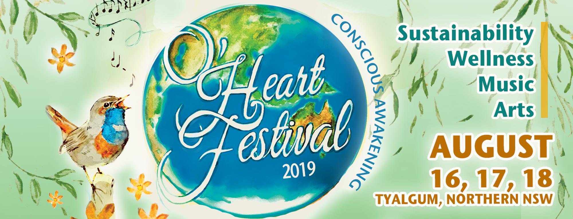 Homepage 2019 - O'Heart Festival