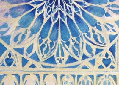 Bea Stars - blue mandala