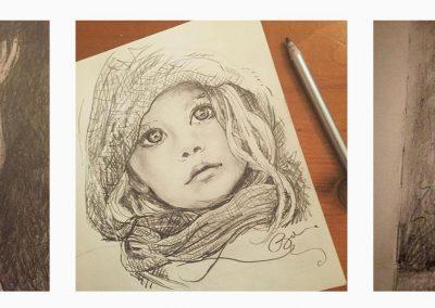 Bea Stars - child in cloak